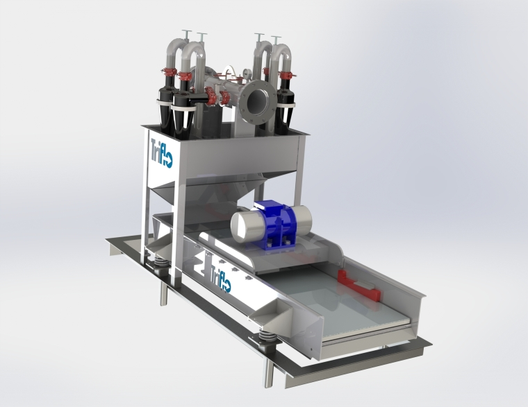 Mud Cleaner, 4-4-126E PTP  03-06-010 RENDER