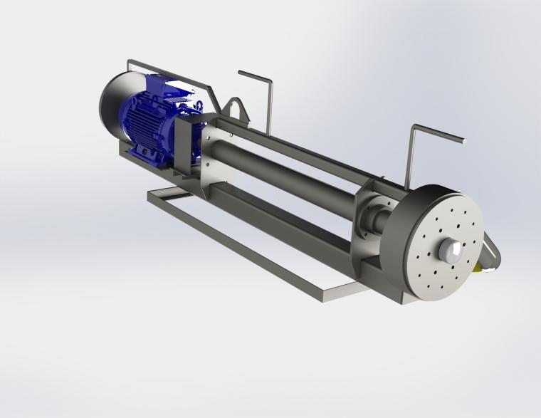 4 inch pit pump render